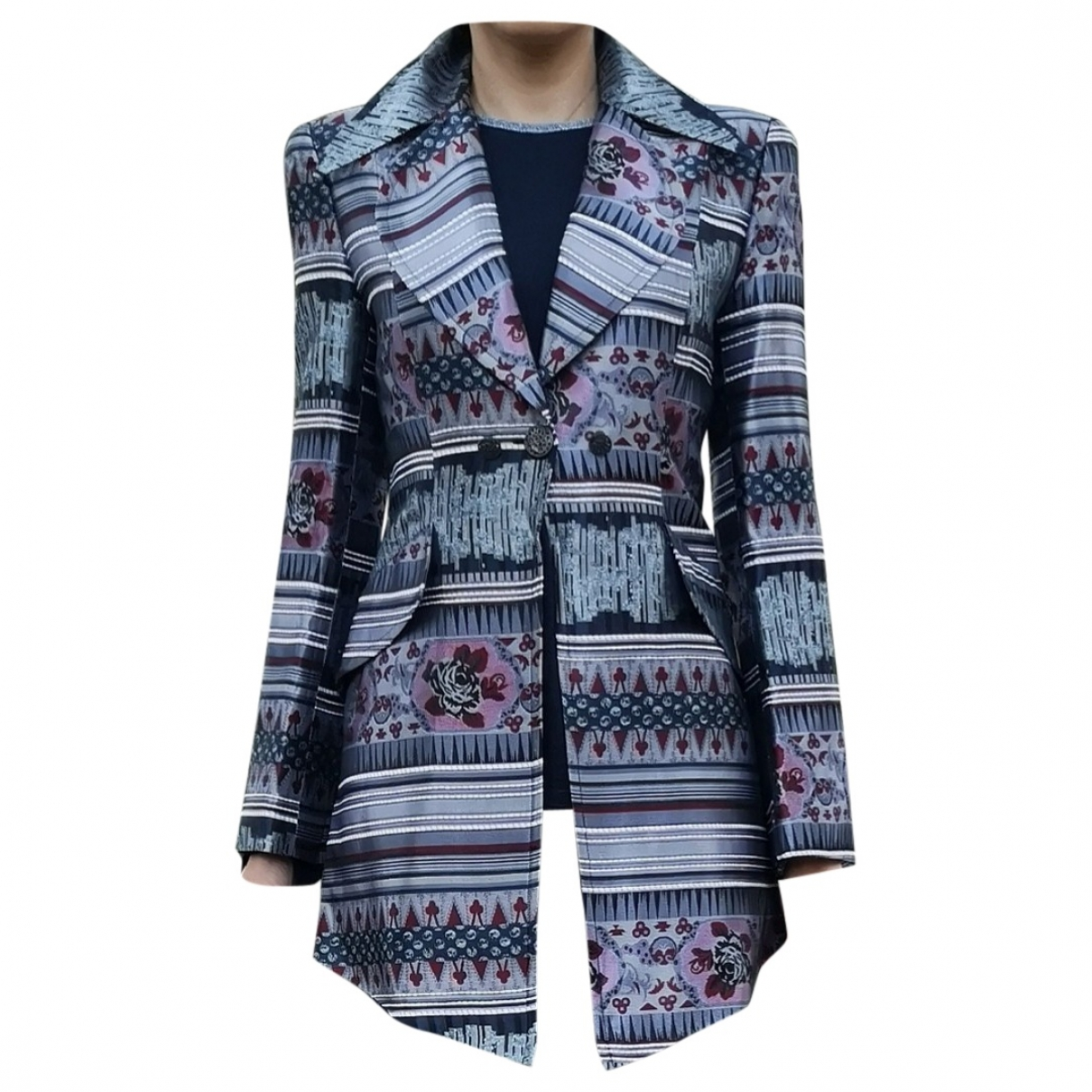 Christian Lacroix \N Silver jacket for Women 38 FR