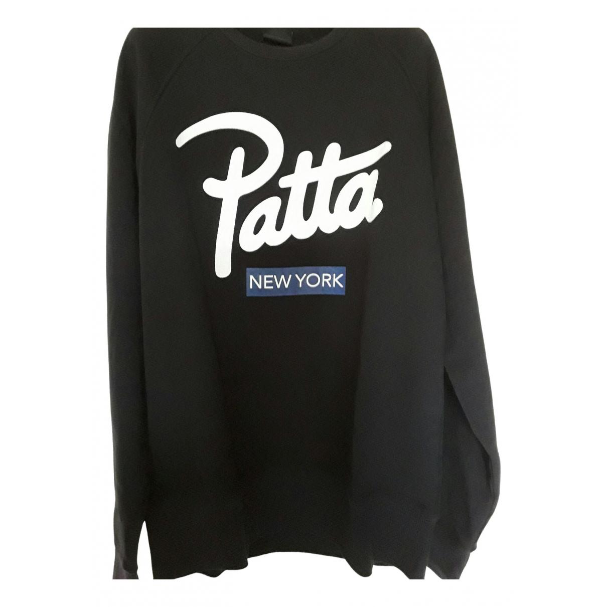 Patta \N Pullover.Westen.Sweatshirts  in  Schwarz Baumwolle