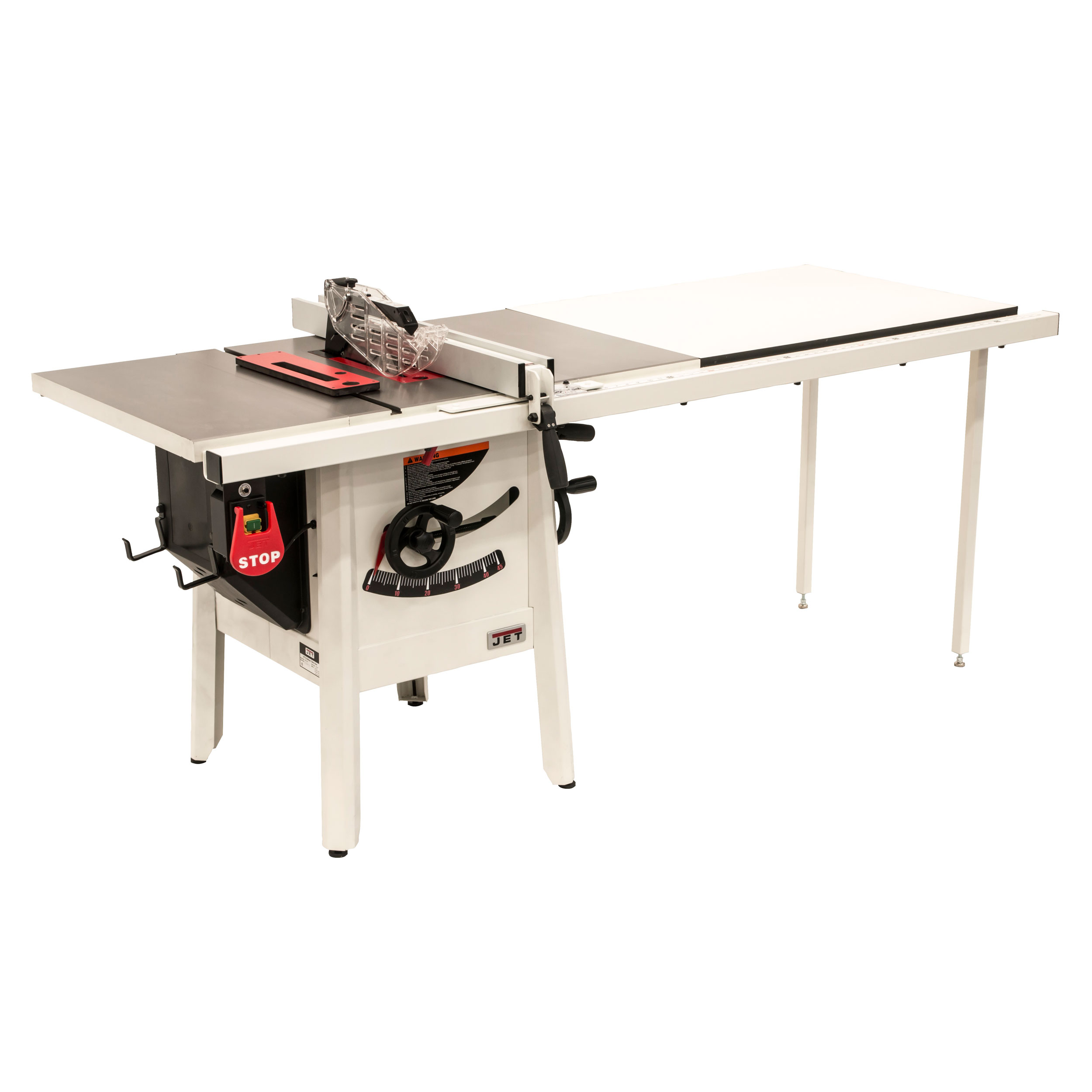 1-3/4HP 1PH 115V ProShop II Table Saw with Cast Wings and 52