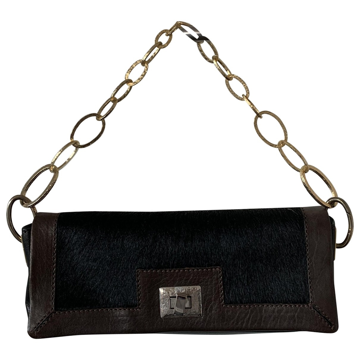 Dorothee Schumacher \N Brown Pony-style calfskin Clutch bag for Women \N