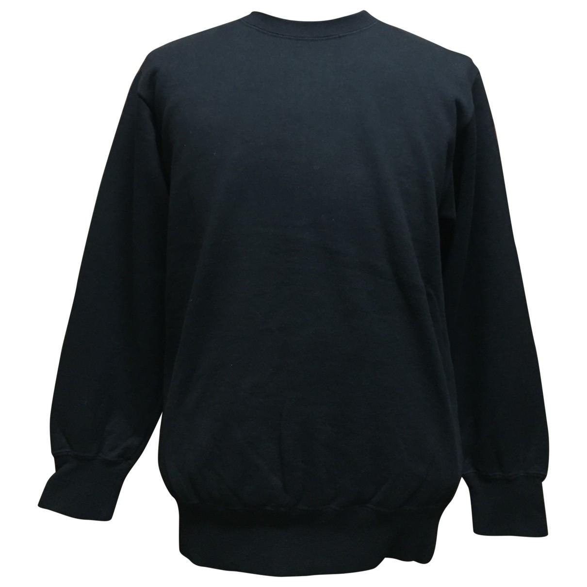 Comme Des Garcons \N Pullover.Westen.Sweatshirts  in  Schwarz Baumwolle
