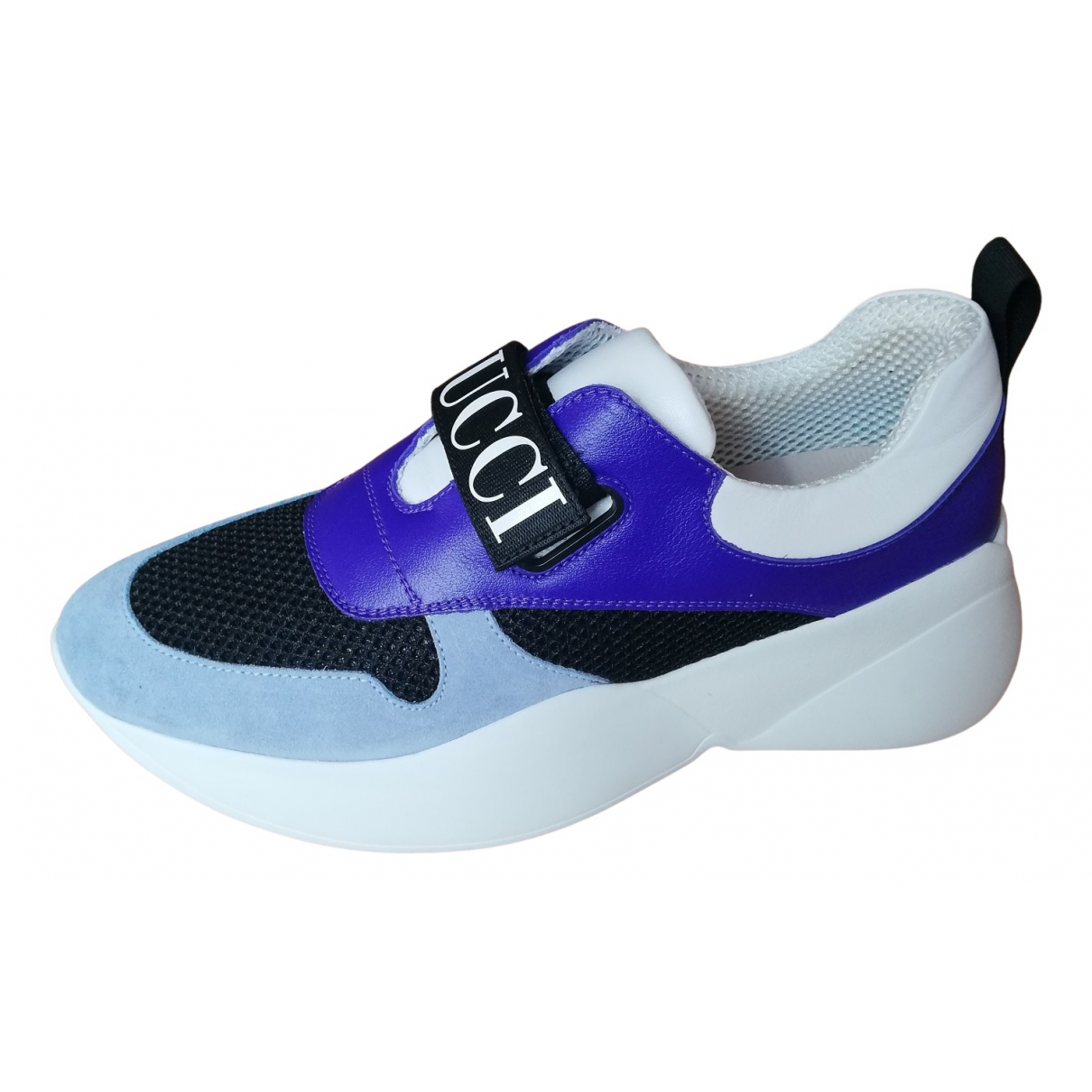 Emilio Pucci \N Sneakers in  Lila Polyester