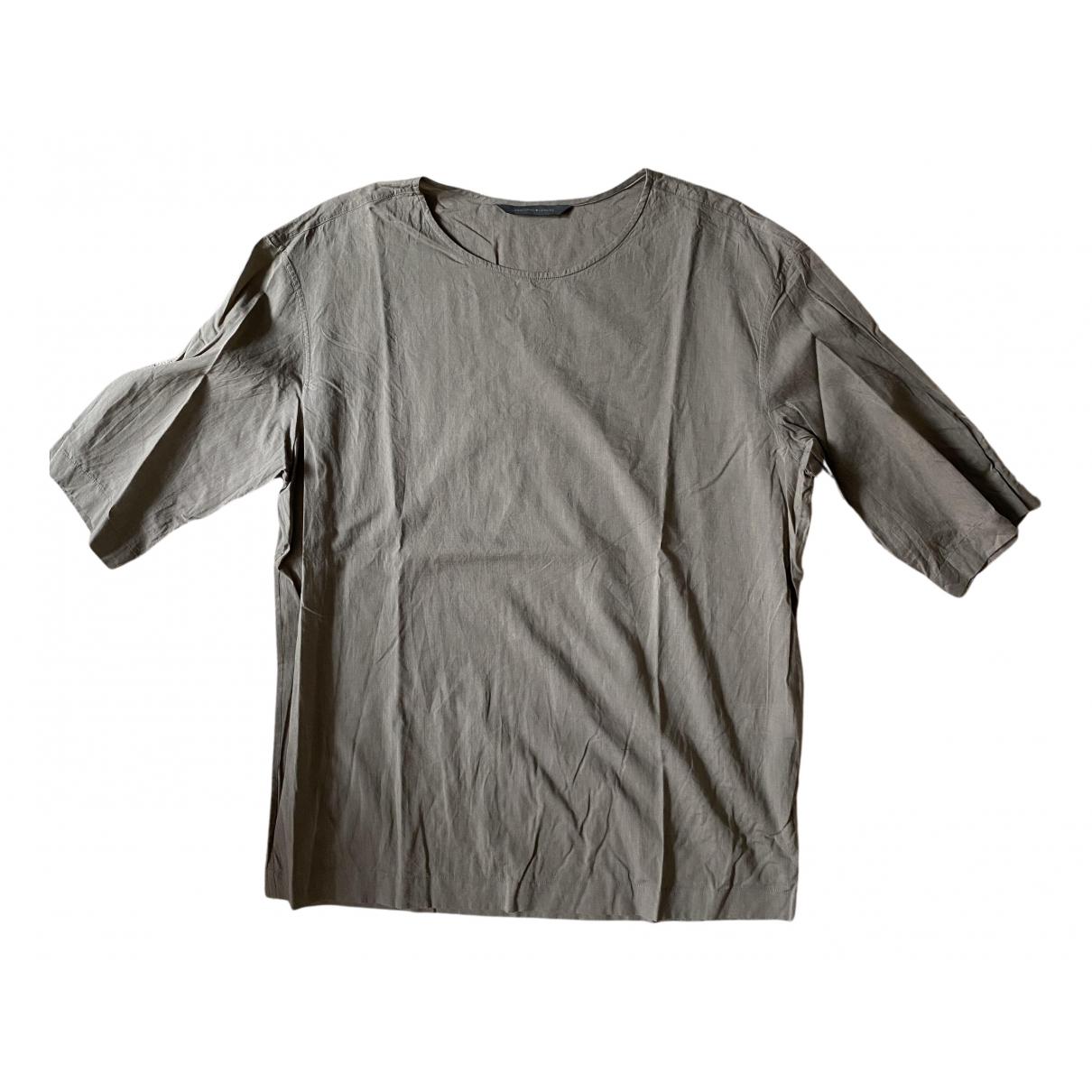 Lemaire - Chemises   pour homme en coton - marron