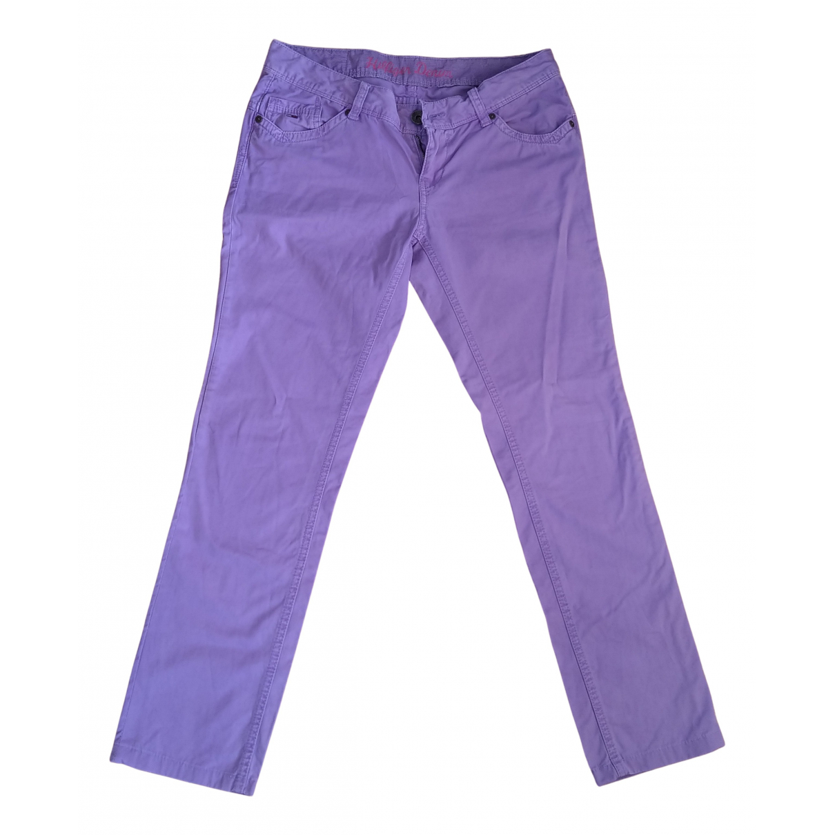 Tommy Hilfiger N Purple Cotton Jeans for Women 27 US