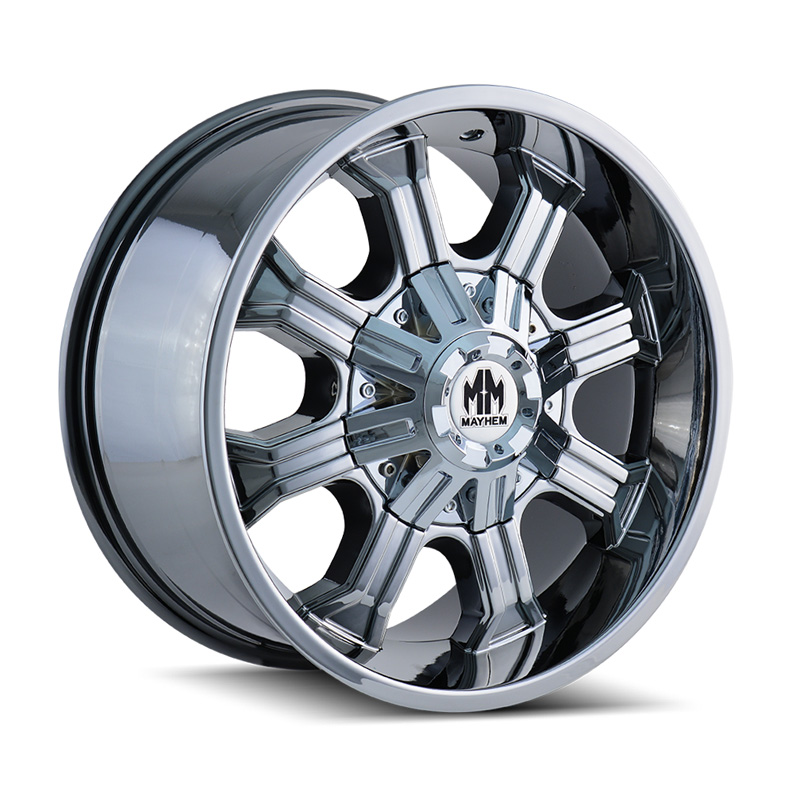 Mayhem Beast 8102 Chrome 20x9 8x180 0mm 124.1mm Wheel