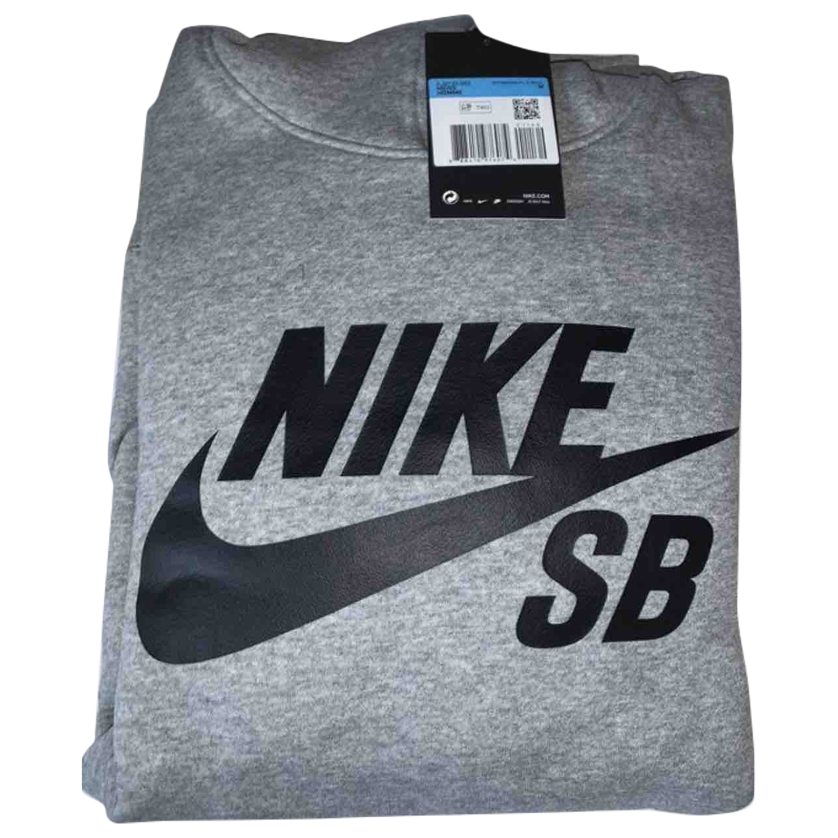 Nike \N Grey Cotton Knitwear & Sweatshirts for Men M International