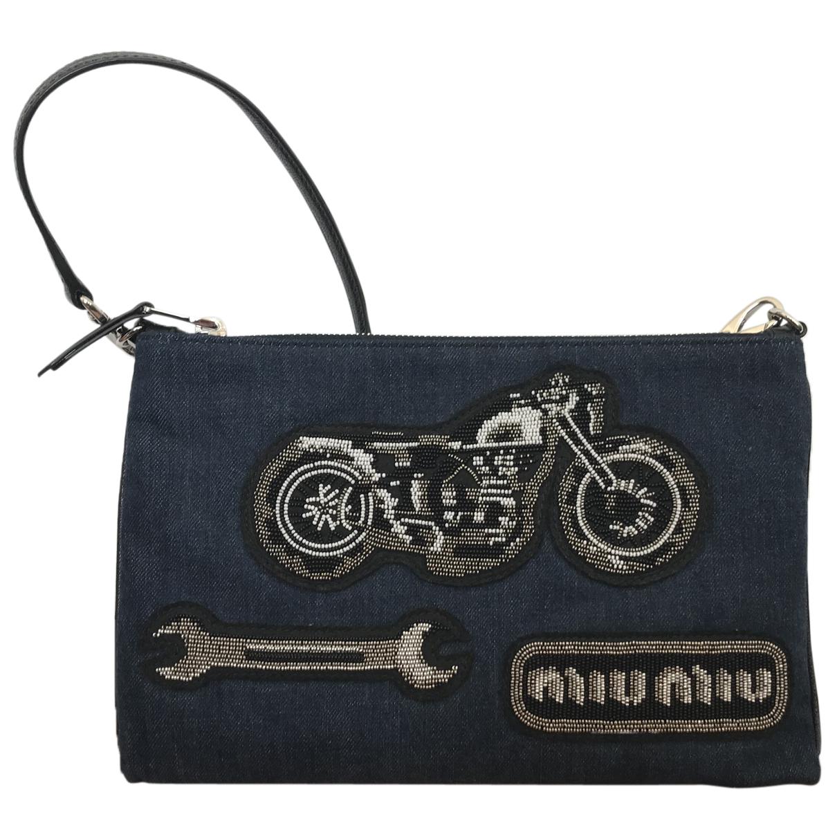 Miu Miu N Blue Denim - Jeans Clutch bag for Women N