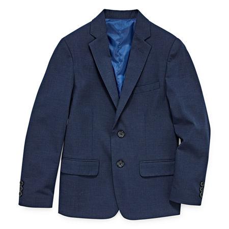 Van Heusen Little & Big Boys Suit Jacket, 18 Husky , Blue