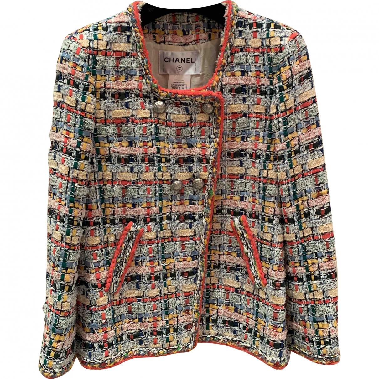 Chanel \N Multicolour Tweed jacket for Women 36 FR