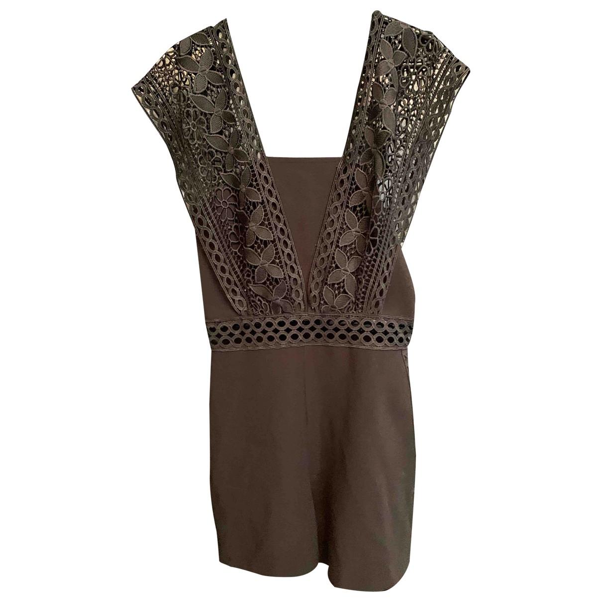 Topshop - Combinaison   pour femme en coton - noir