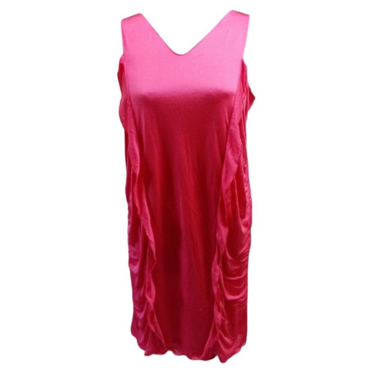 M Missoni \N Pink Silk dress for Women 44 IT