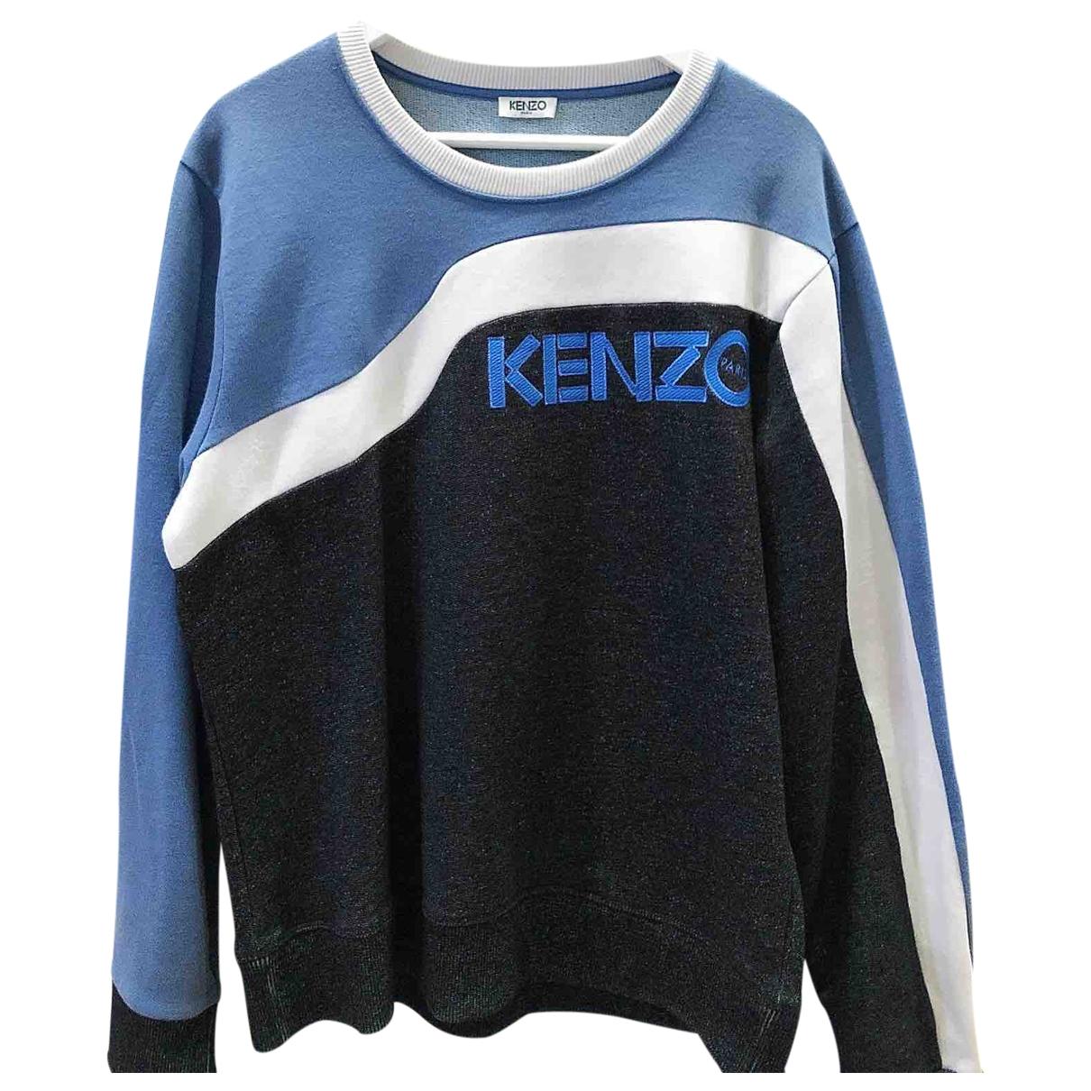 Kenzo \N Blue Cotton Knitwear & Sweatshirts for Men M International