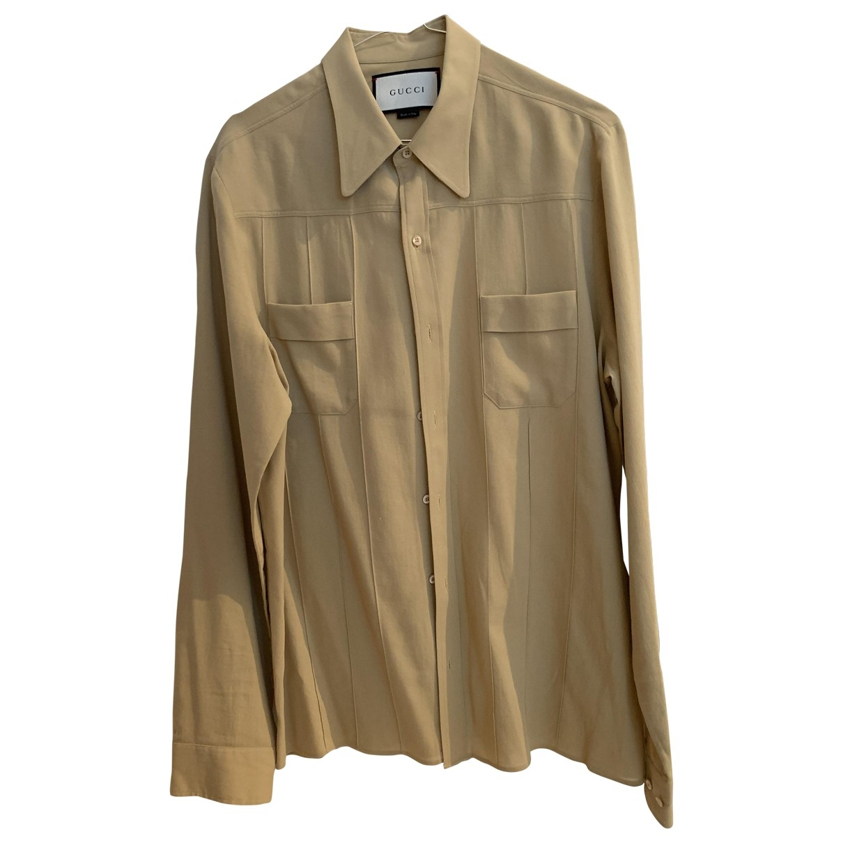 Gucci \N Beige Shirts for Men S International