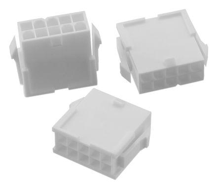 Wurth Elektronik , WR-MPC4 Male Connector Housing, 4.2mm Pitch, 18 Way, 2 Row (5)