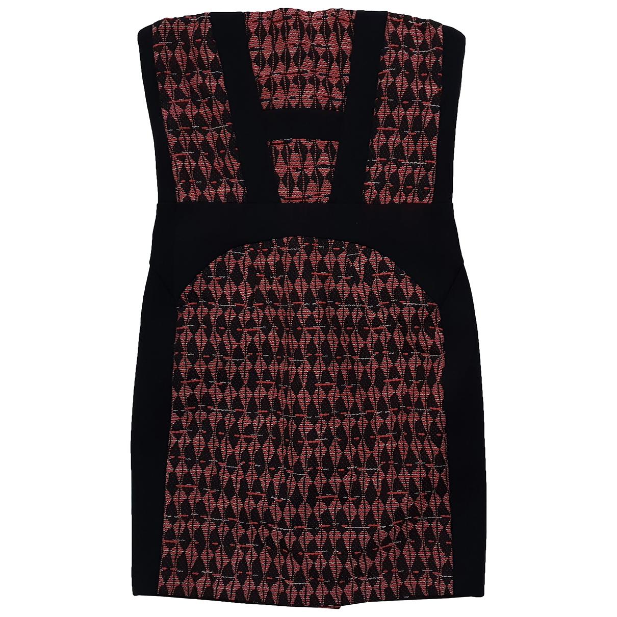 Maje Spring Summer 2019 Multicolour Cotton dress for Women 38 FR