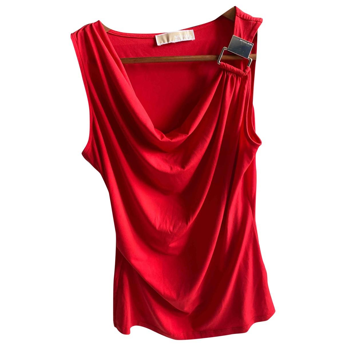 Michael Kors - Top   pour femme - rouge