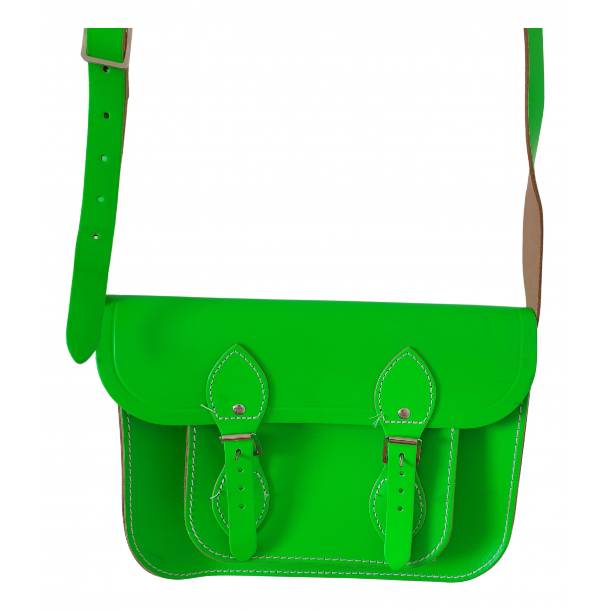 Cambridge Satchel Company \N Handtasche in  Gruen Leder