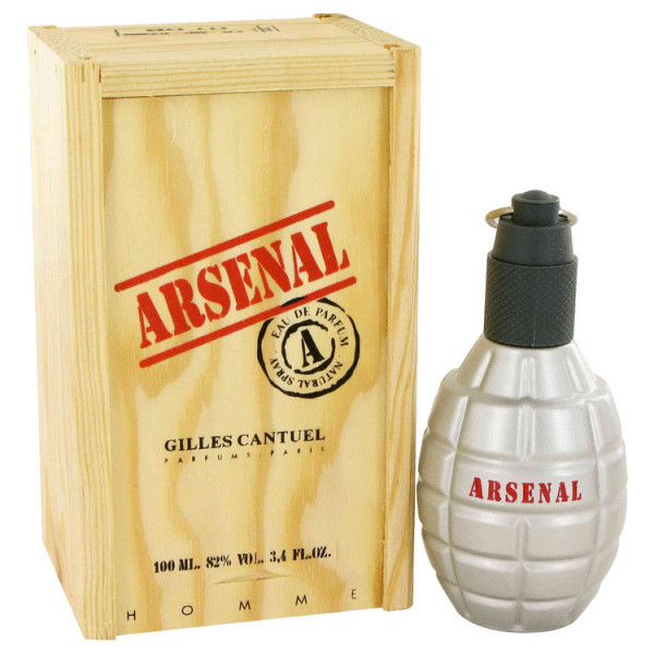 Arsenal Grey - Gilles Cantuel Eau de parfum 100 ML
