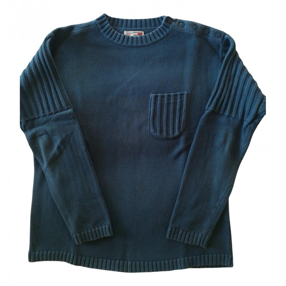 Tommy Hilfiger N Blue Cotton Knitwear & Sweatshirts for Men M International