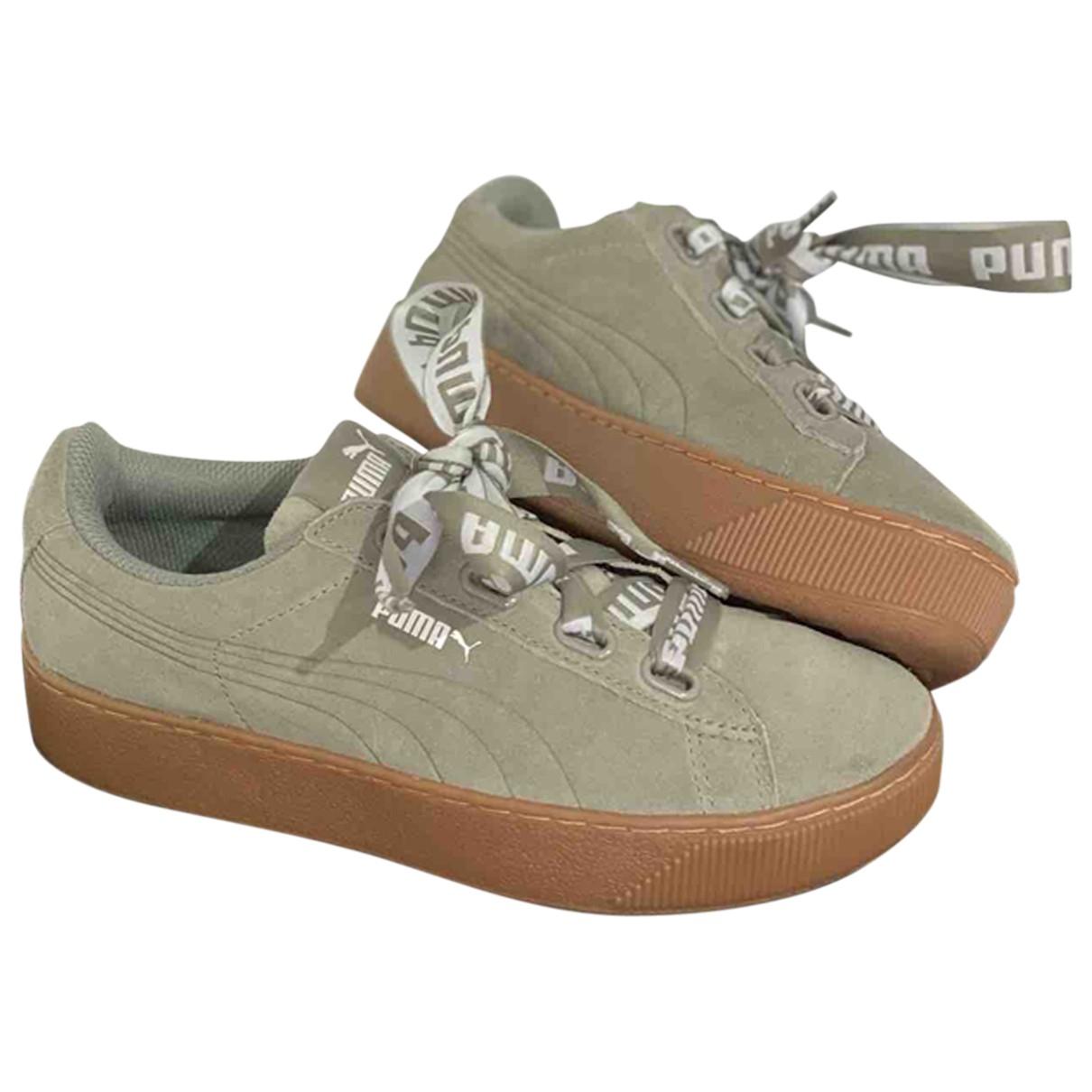 Puma \N Sneakers in Veloursleder