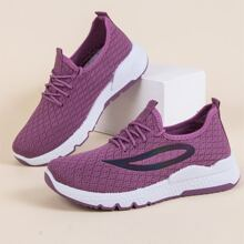 Zapatillas deportivas anchas con cordon