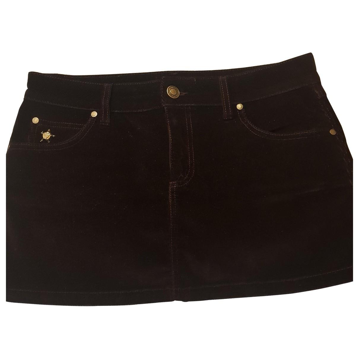 Mini falda de Terciopelo Gucci