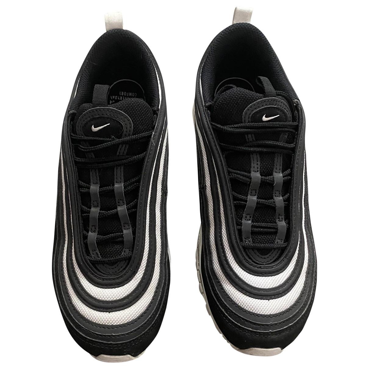 Nike - Baskets Air Max 97 pour femme en caoutchouc - noir