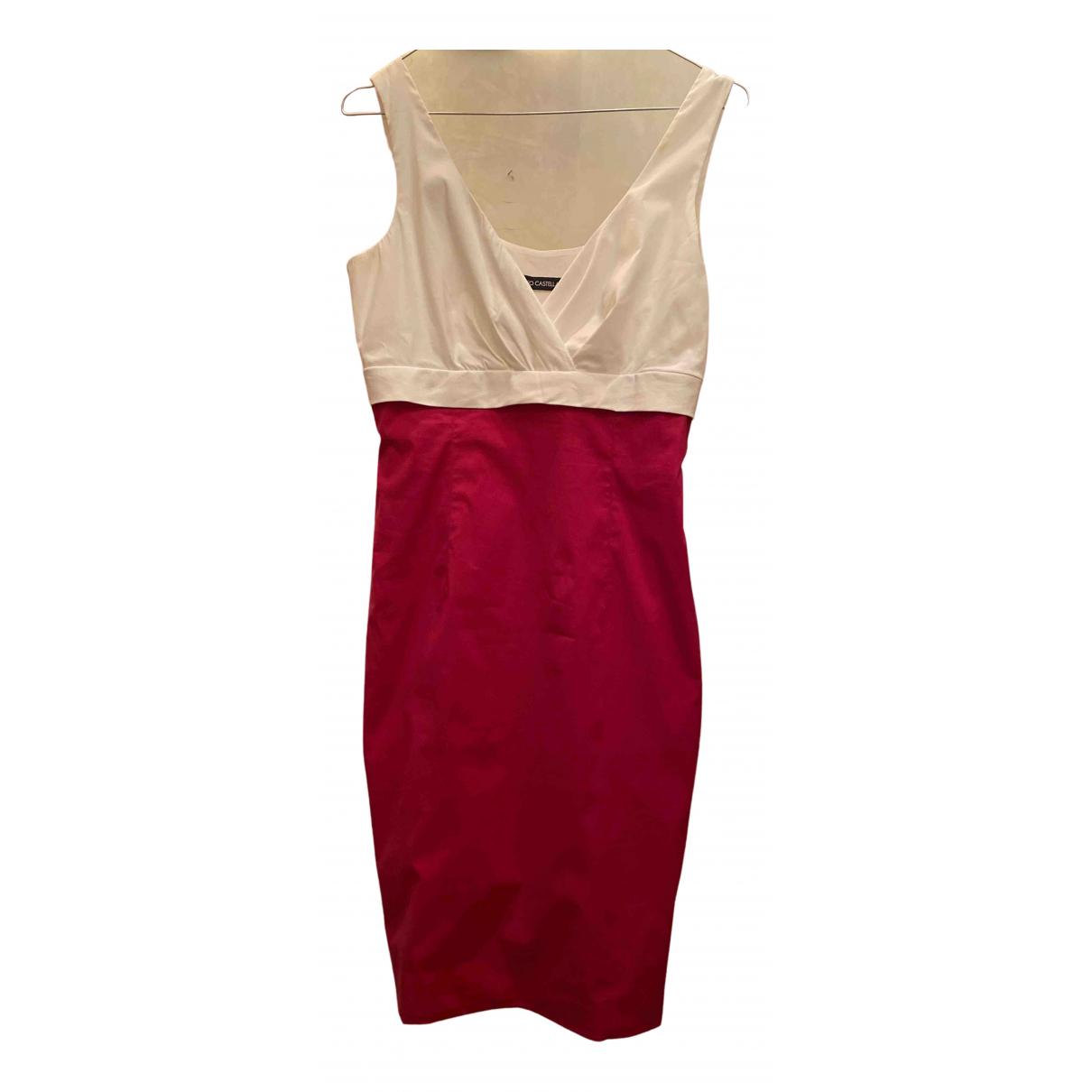 Flavio Castellani N Pink Cotton dress for Women 42 IT