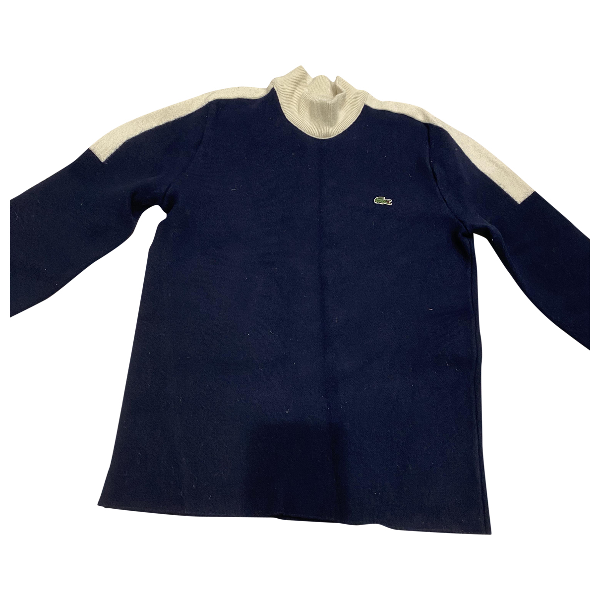Lacoste \N Pullover.Westen.Sweatshirts  in  Marine Polyester
