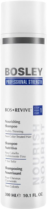 Bosley Pro BosRevive Nourishing Shampoo For Non Color-Treated Hair - 10.1oz