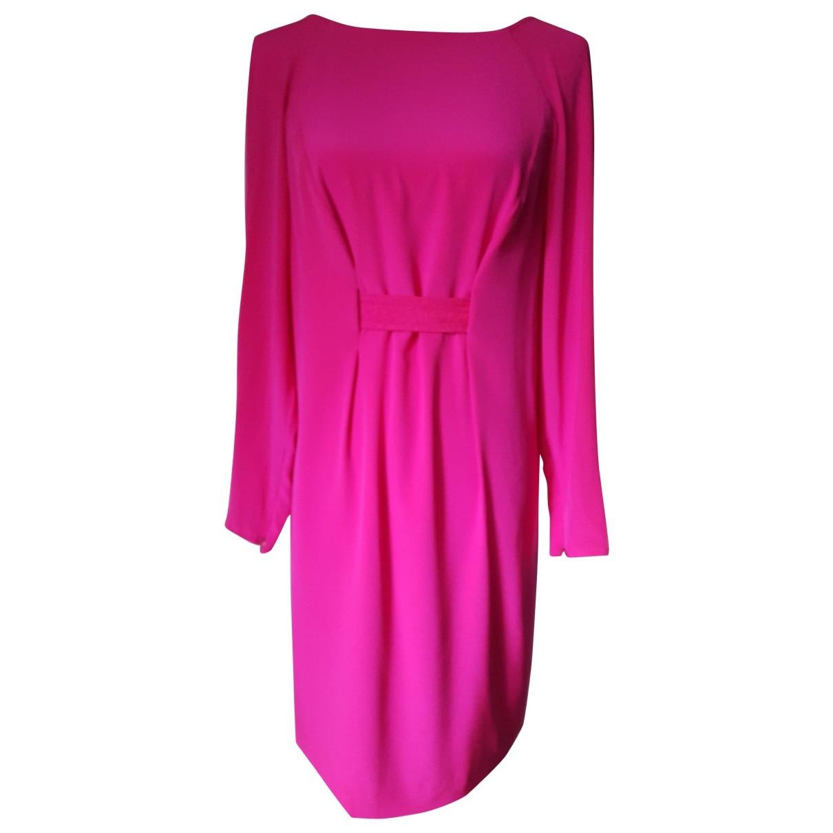 Versace \N Kleid in  Rosa Seide