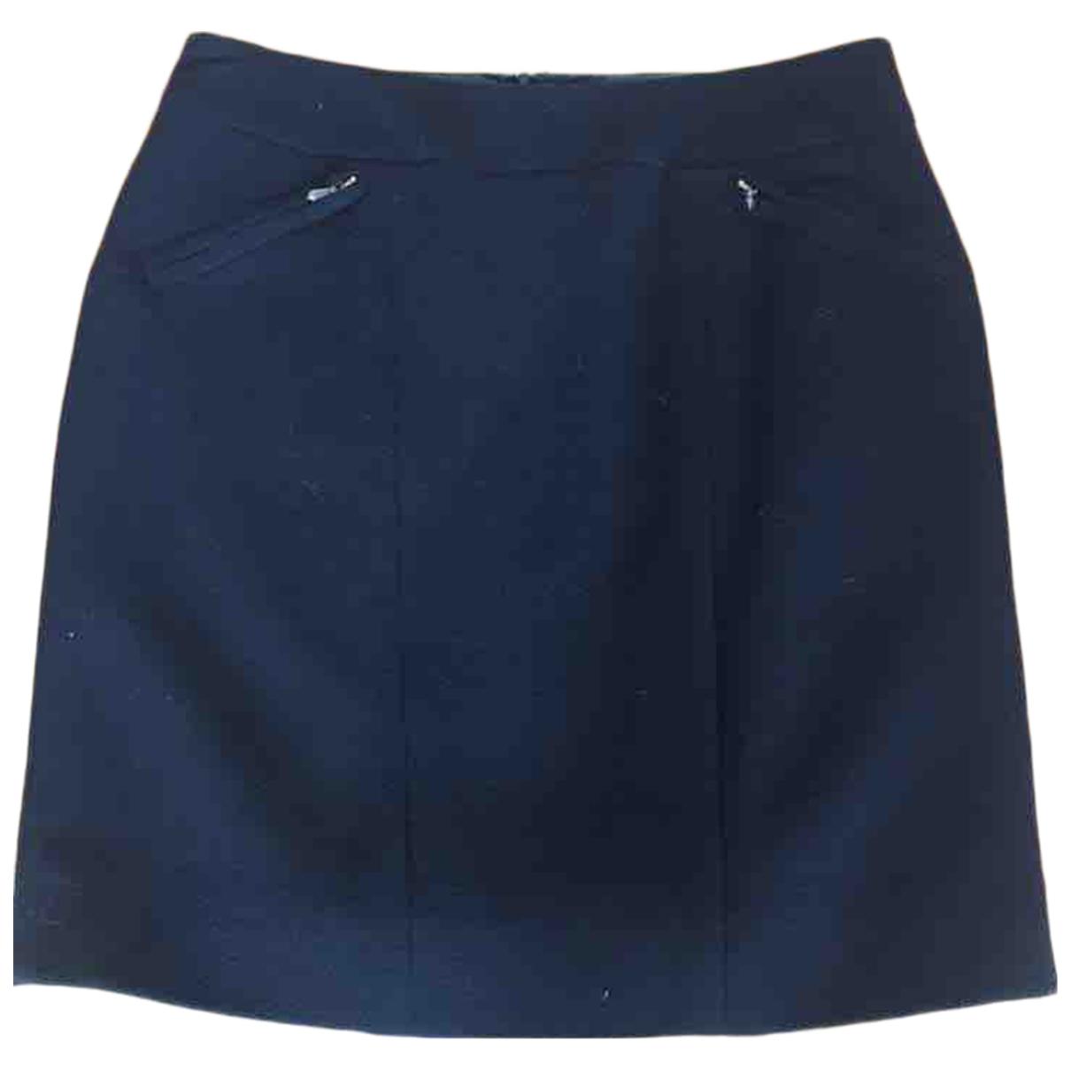 Chanel \N Black Wool skirt for Women 40 FR