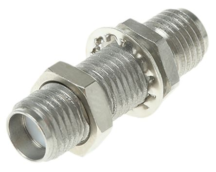 Radiall Straight 50Ω RF Adapter SMA Socket to SMA Socket 18GHz