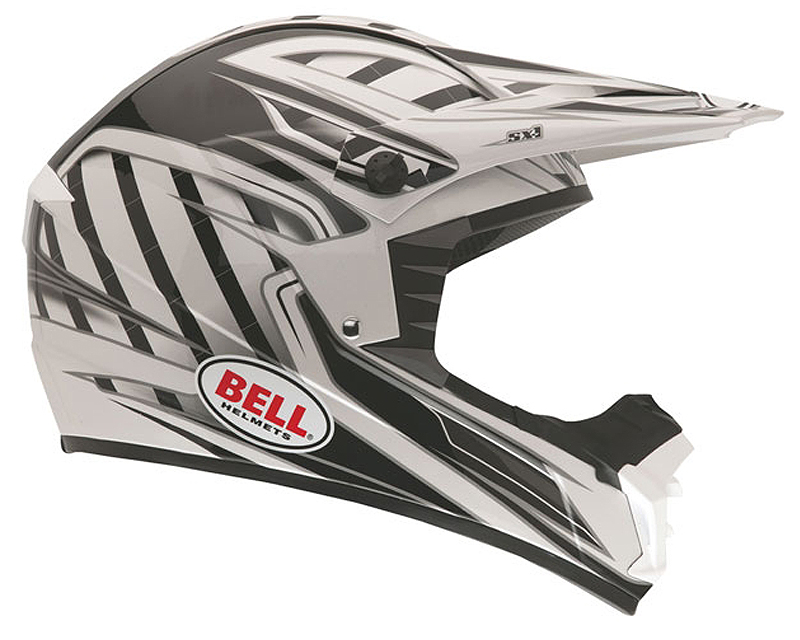 Bell Racing 2036746 SX-1 Switch Black Helmet LG | 58-59