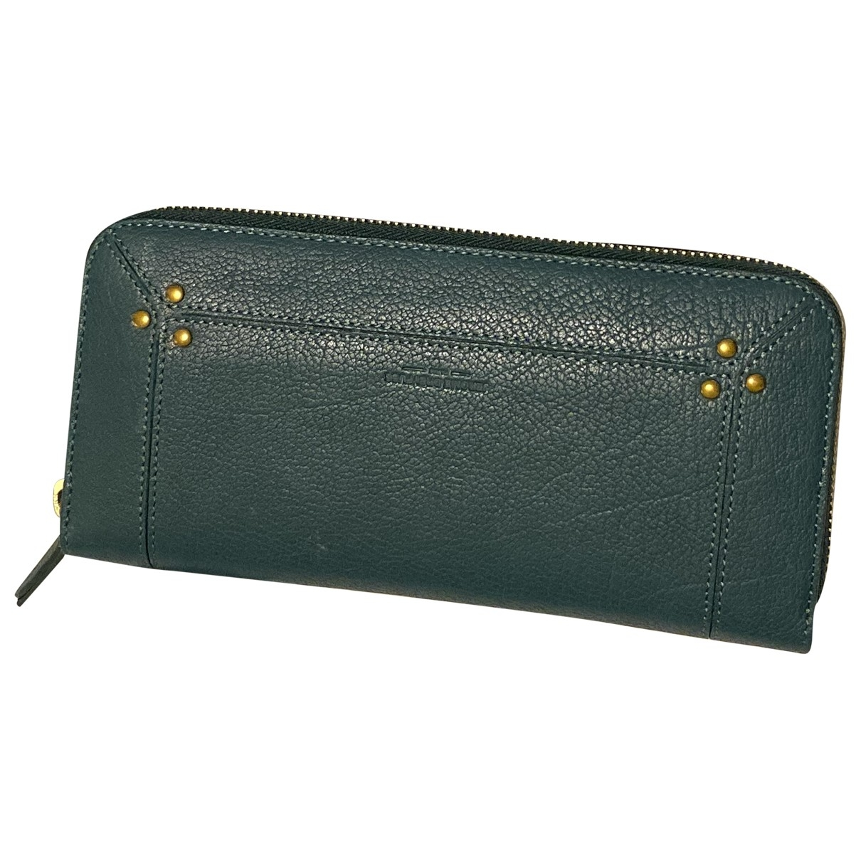 Jerome Dreyfuss \N Clutch in  Tuerkis Leder