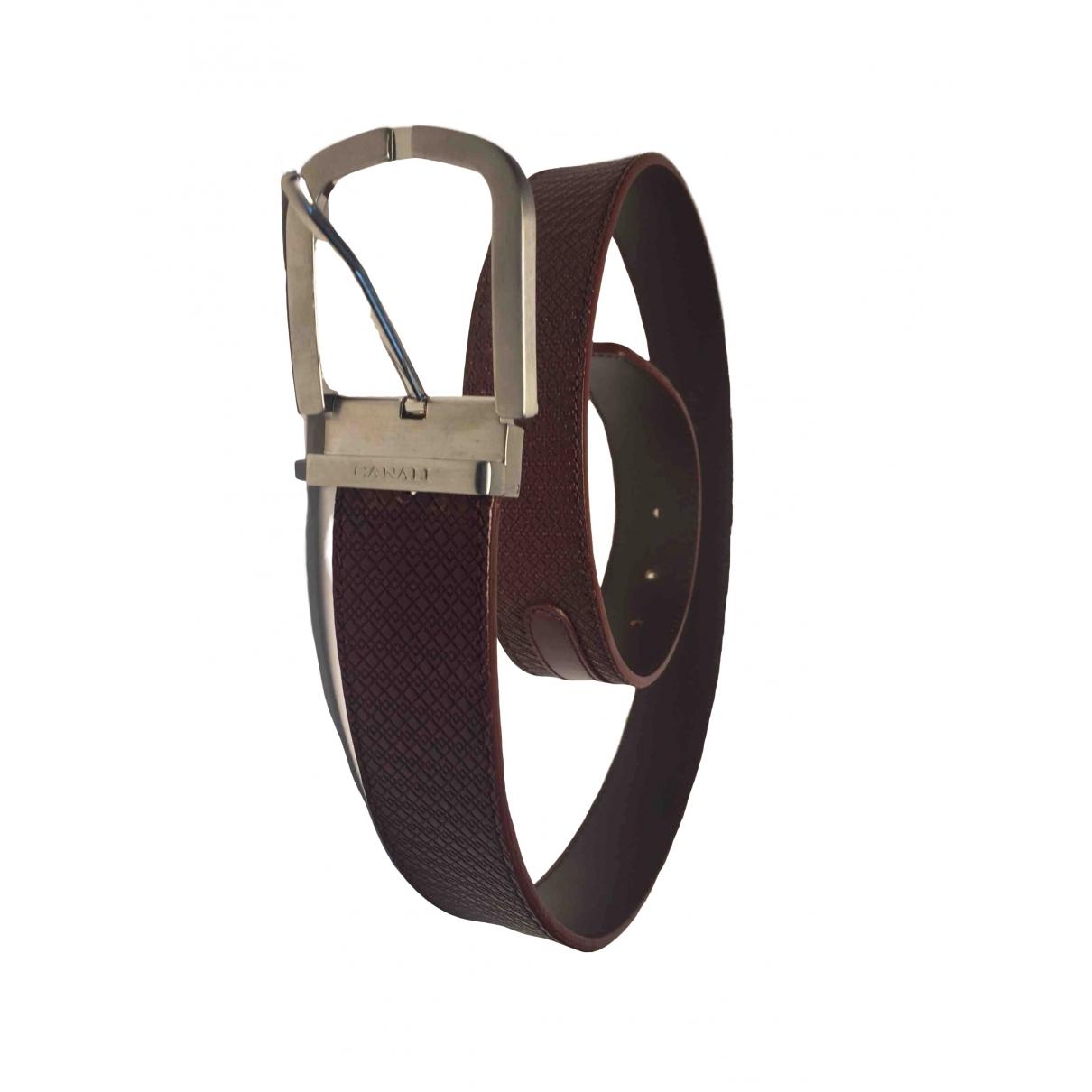 Cinturon de Cuero Canali