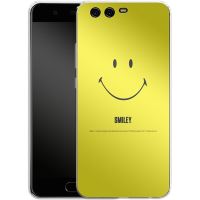Huawei P10 Silikon Handyhuelle - Smiley All Over von Smiley®