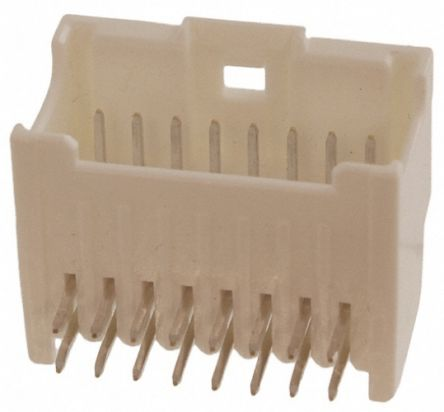 Molex , MicroClasp, 55959, 10 Way, 2 Row, Right Angle PCB Header (10)