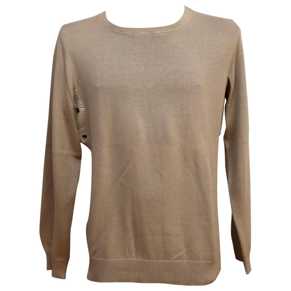 Prada \N Pullover.Westen.Sweatshirts  in  Beige Baumwolle