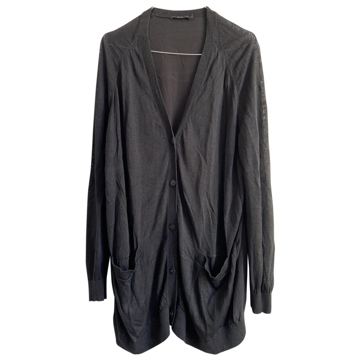 Cos \N Black Cotton Knitwear for Women M International