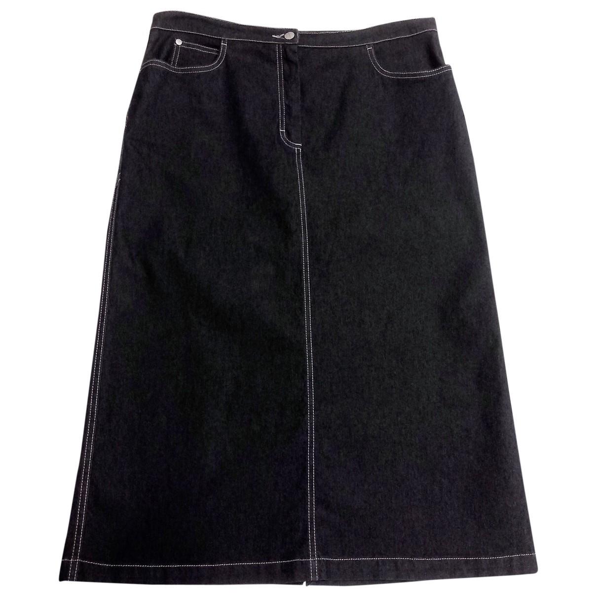 Trussardi Jeans \N Rocke in  Blau Denim - Jeans