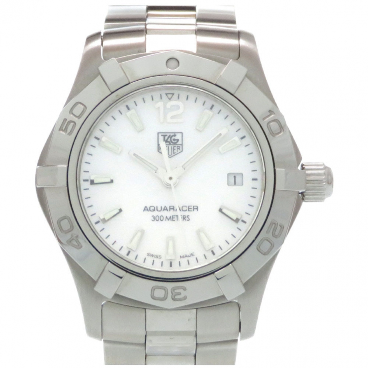 Tag Heuer \N Uhr in  Weiss Stahl