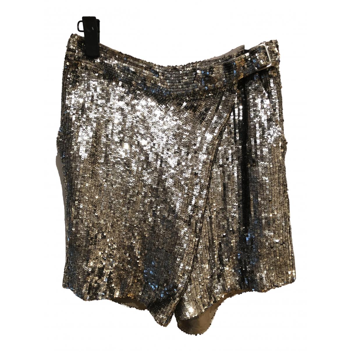 3.1 Phillip Lim \N Shorts in  Silber Seide