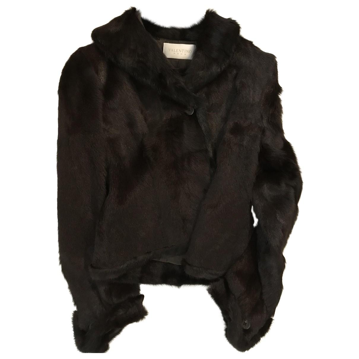 Valentino Garavani \N Brown Mink jacket for Women One Size IT