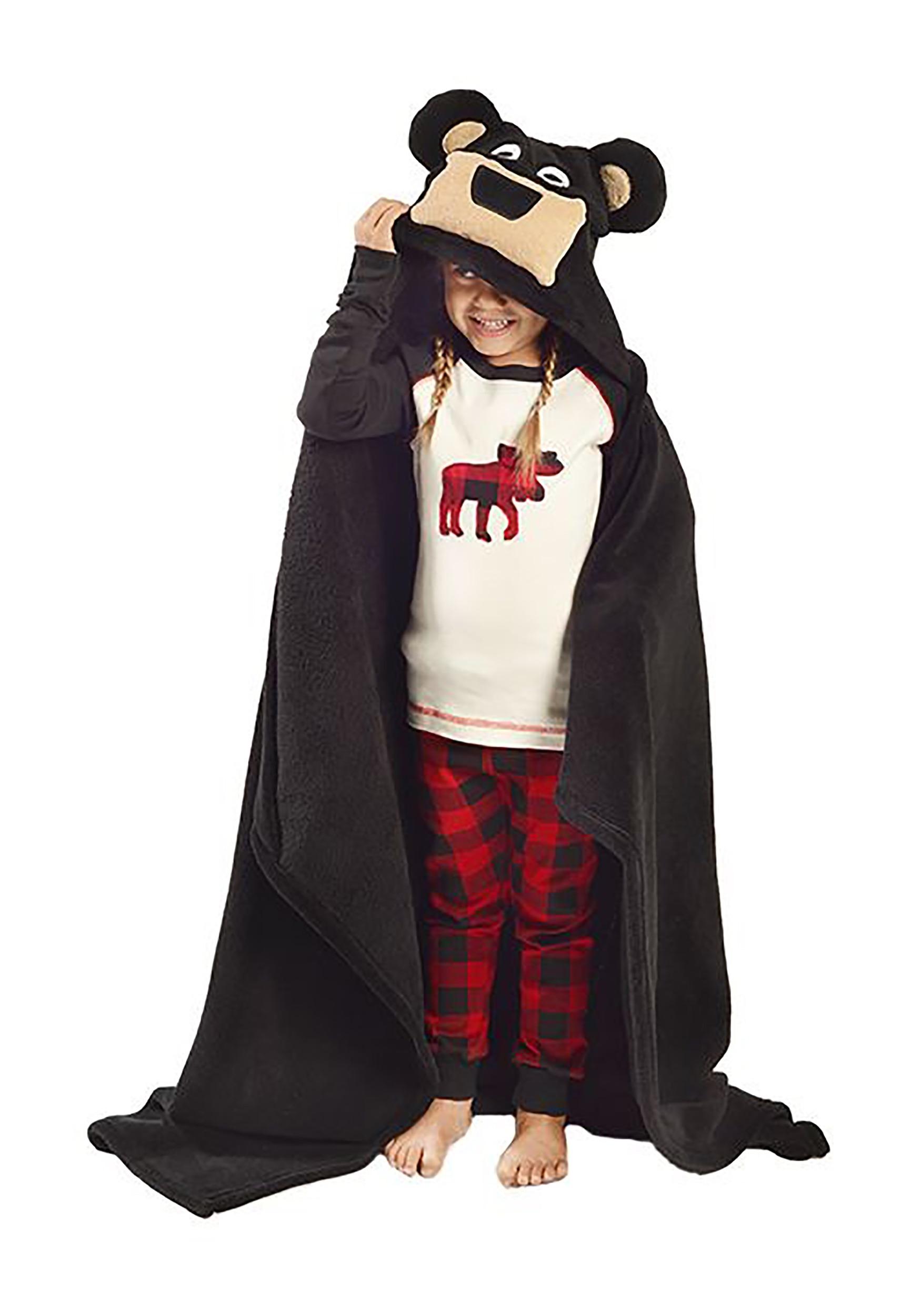Kids Bear Critter Blanket