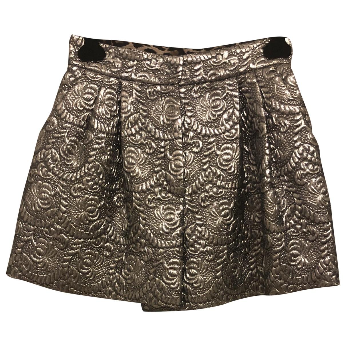 Dolce & Gabbana - Short   pour femme - metallise