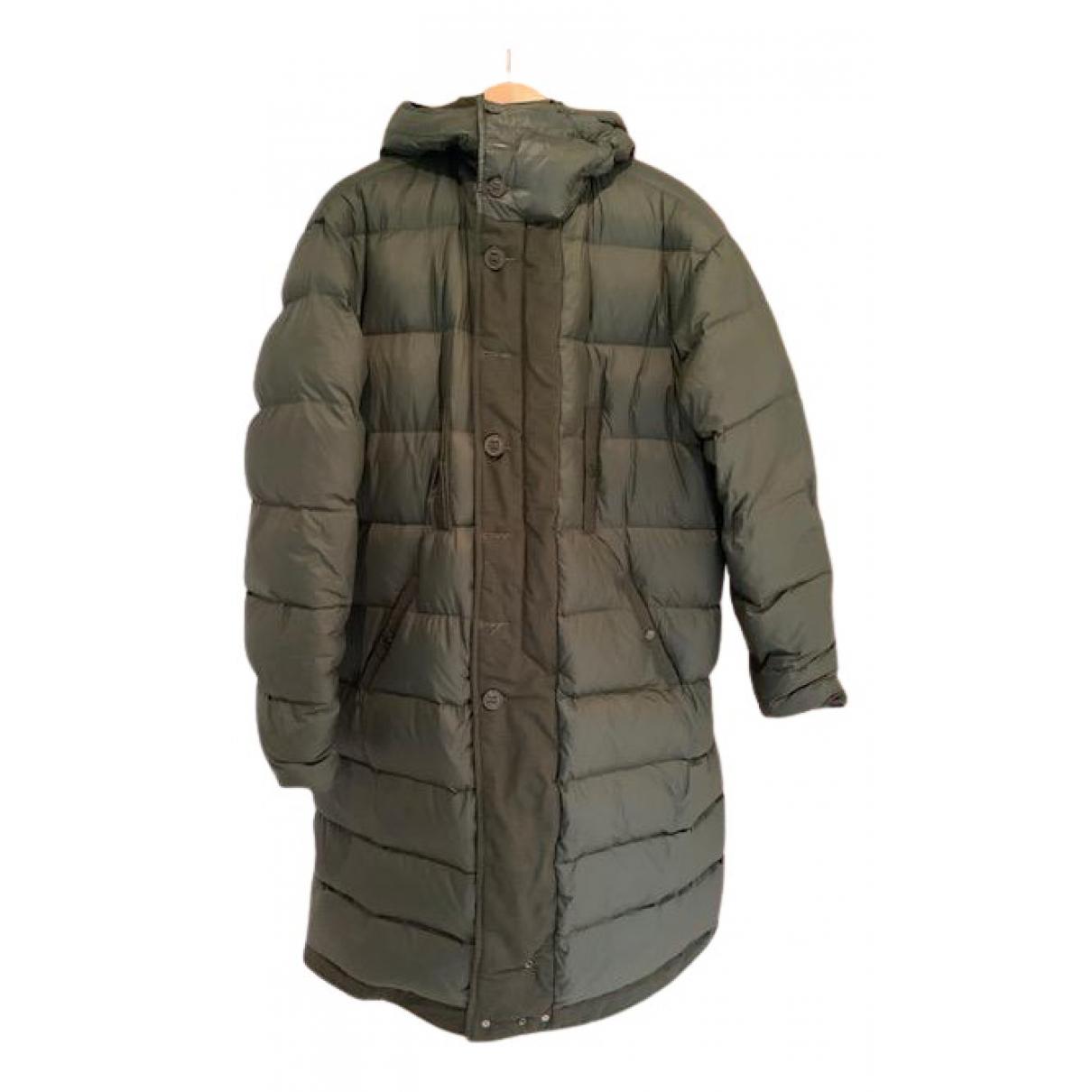 R13 - Manteau   pour homme en coton - vert