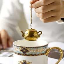 1 set filtro de te en forma de tetera