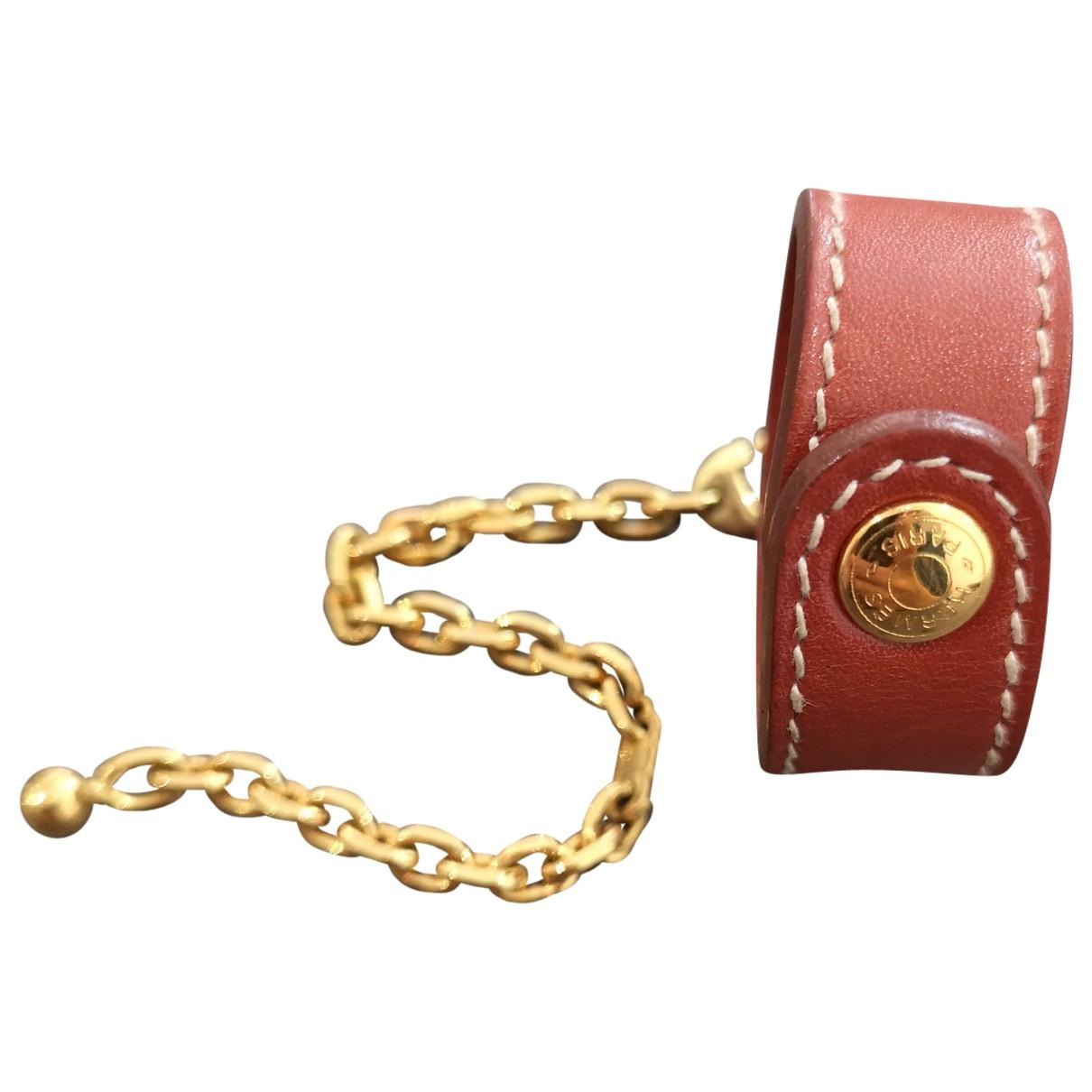 Hermes \N Taschenschmuck in  Kamel Leder