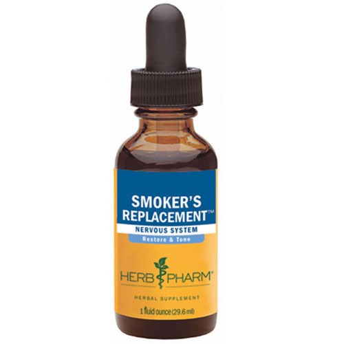 Smokers Replacement 1 fl oz by Herb Pharm